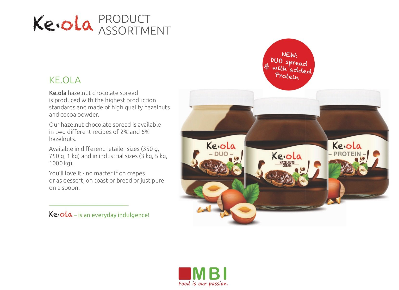 Ke.Ola Chocolate Spread